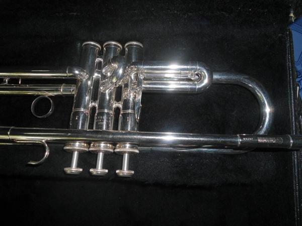 Yamaha ytr 431t silver trumpet aad3500863 for Yamaha ytr 4335gs ii